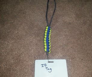 Easy Paracord 3-Color Necklace