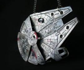 DIY Millennium Falcon Purse