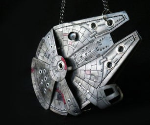 DIY Millennium Falcon Purse