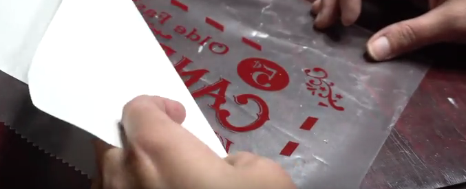 Picture of Prepare Your Stencil and Apply to Board