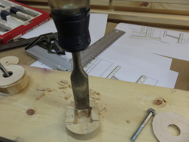 Picture of Making the Leg Levelers