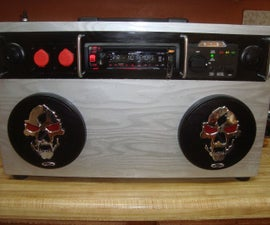 Boom Box for the Workshop, Tailgating, Etc.