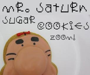 Mr. Saturn Sugar Cookies