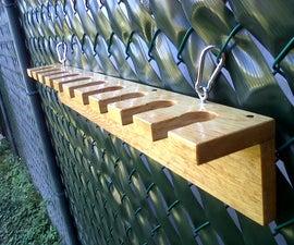 Baseball Bat Rack