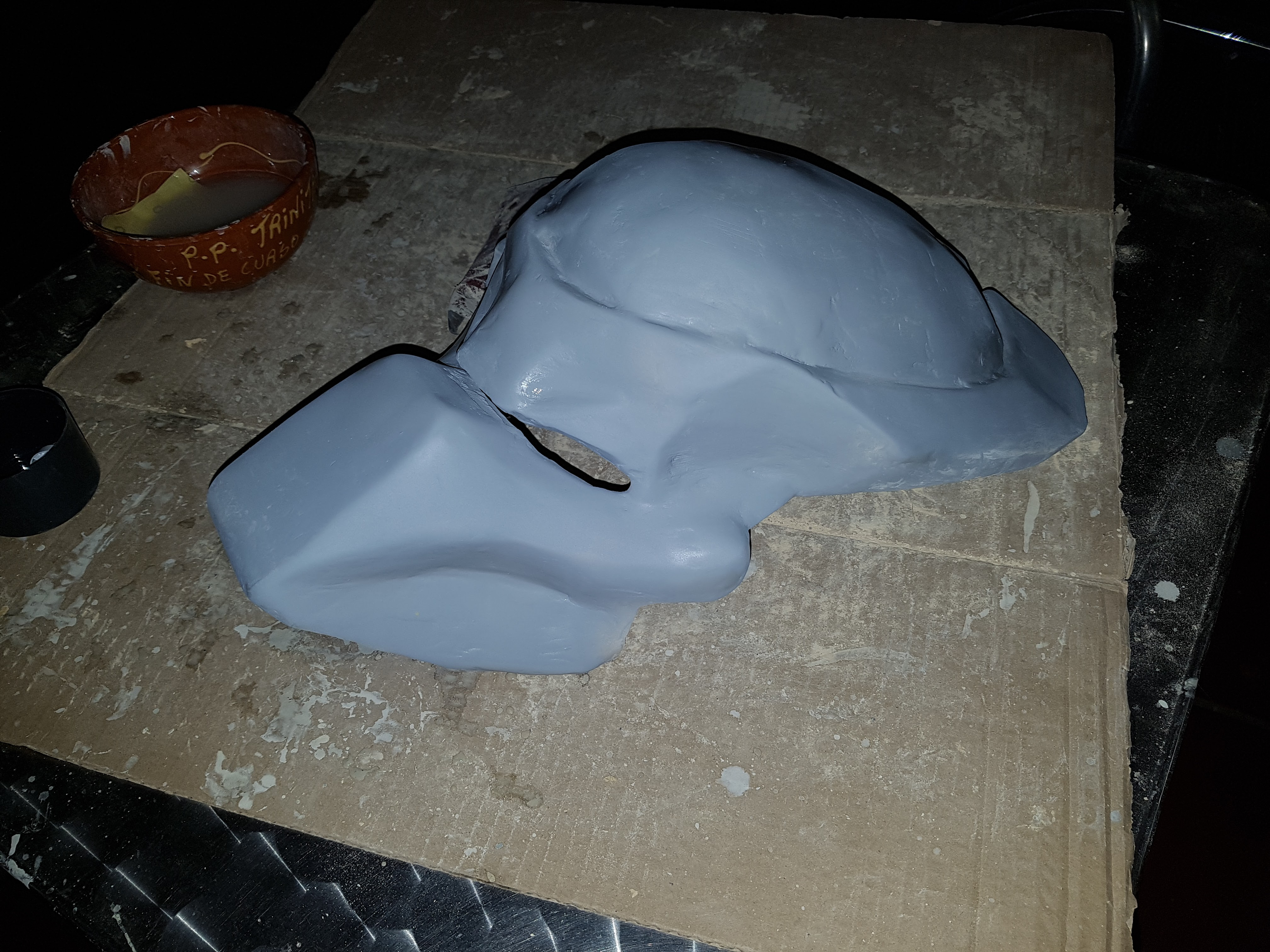 Picture of Cover With Polyester Putty