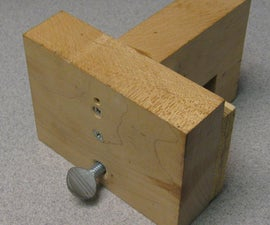 How to Make an Adjustable Work (Cut/ Drill/ Saw) Stop