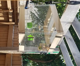 Plexiglass Bird Cage