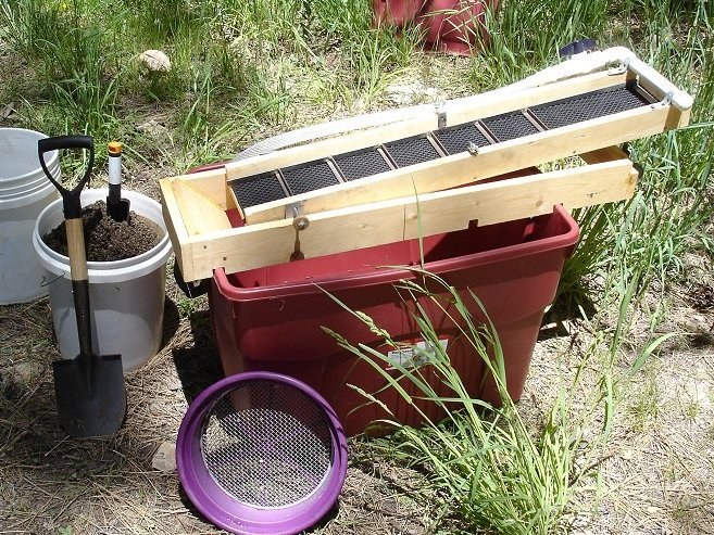 Picture of A Recirculating Sluice Box for Gold Prospecting