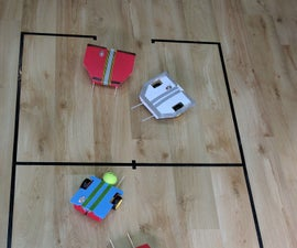 Football Robot (or Soccer, If You Live on the Other Side of the Pond)