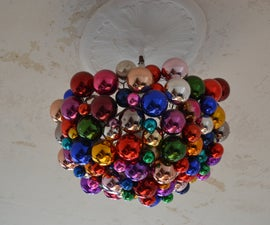 "the amazing color ball ""chandelier"""
