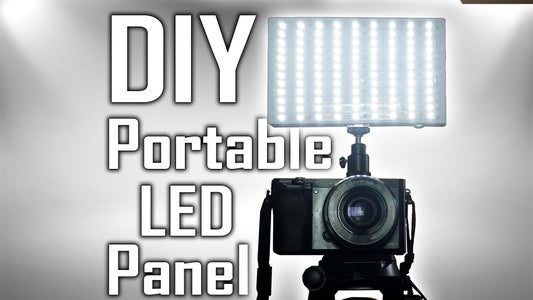 $5 Small Battery Powered LED Panel