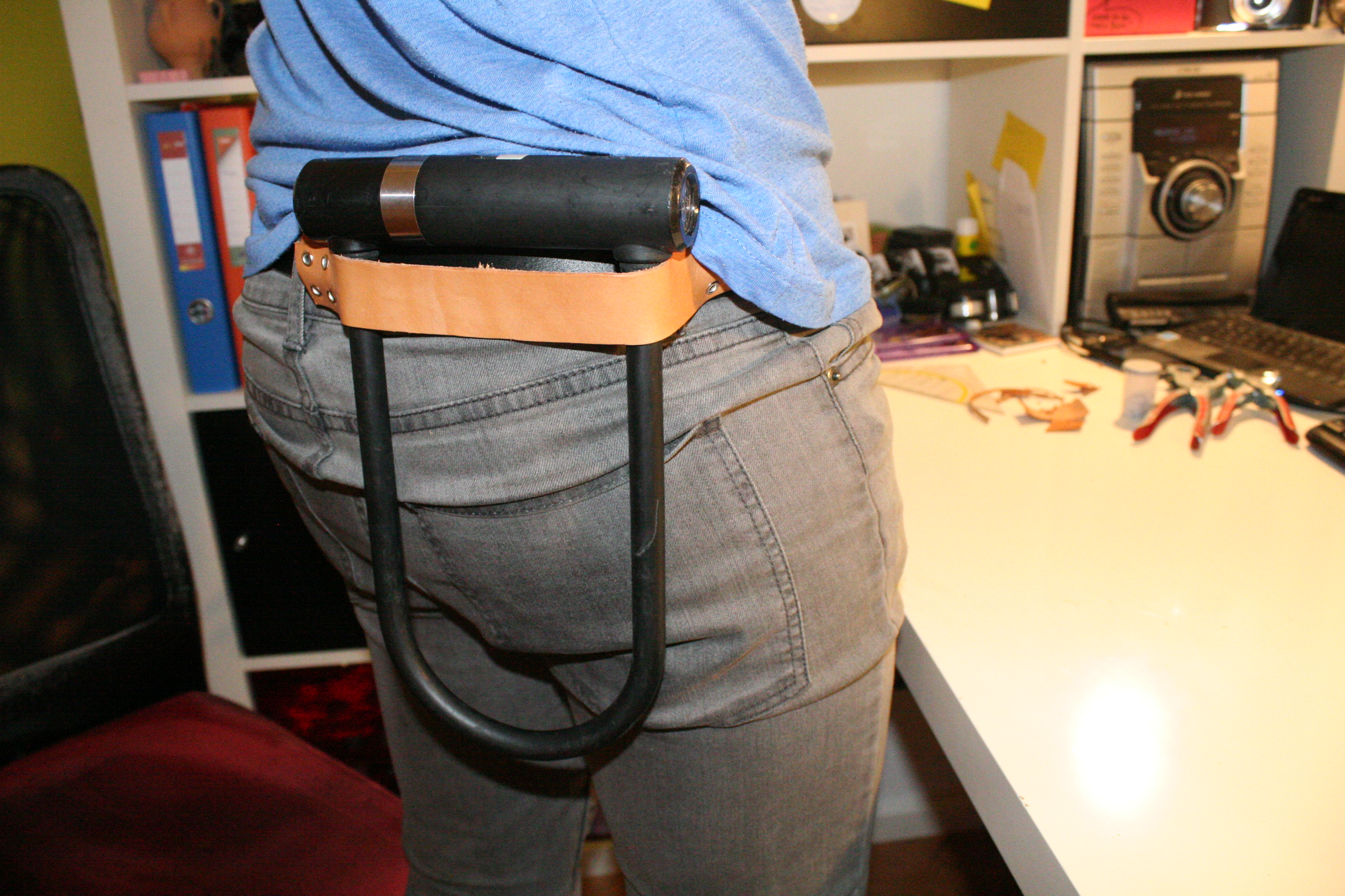 Picture of Easy Leather U-Lock Holster