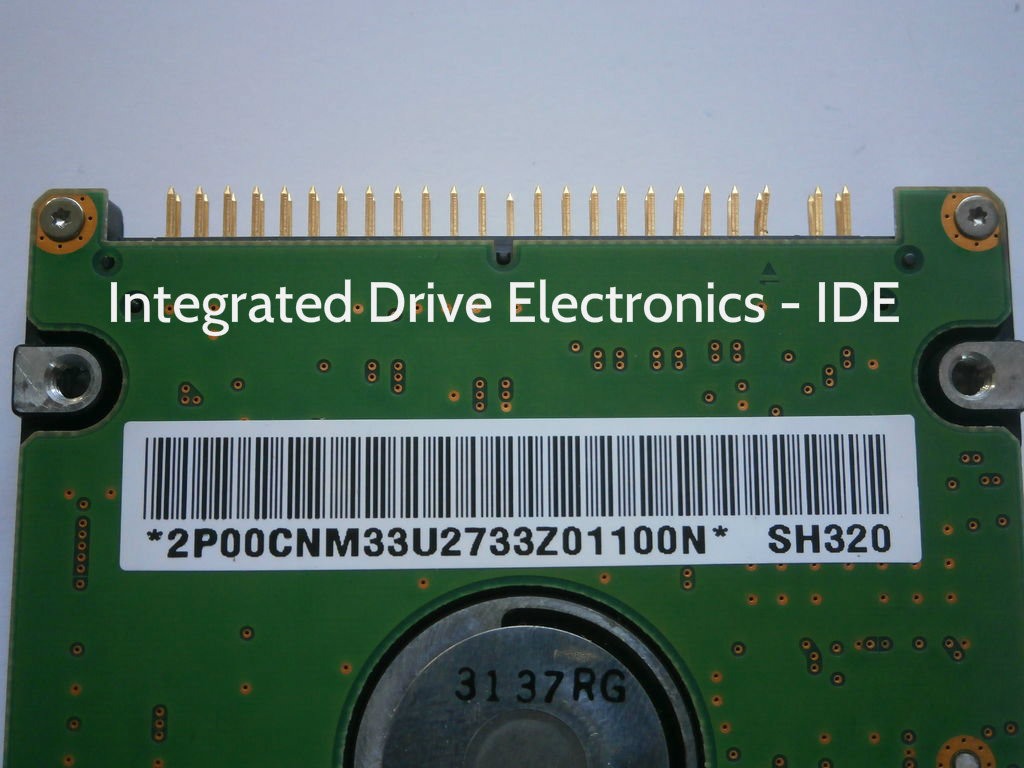 Picture of HDD Interface Types