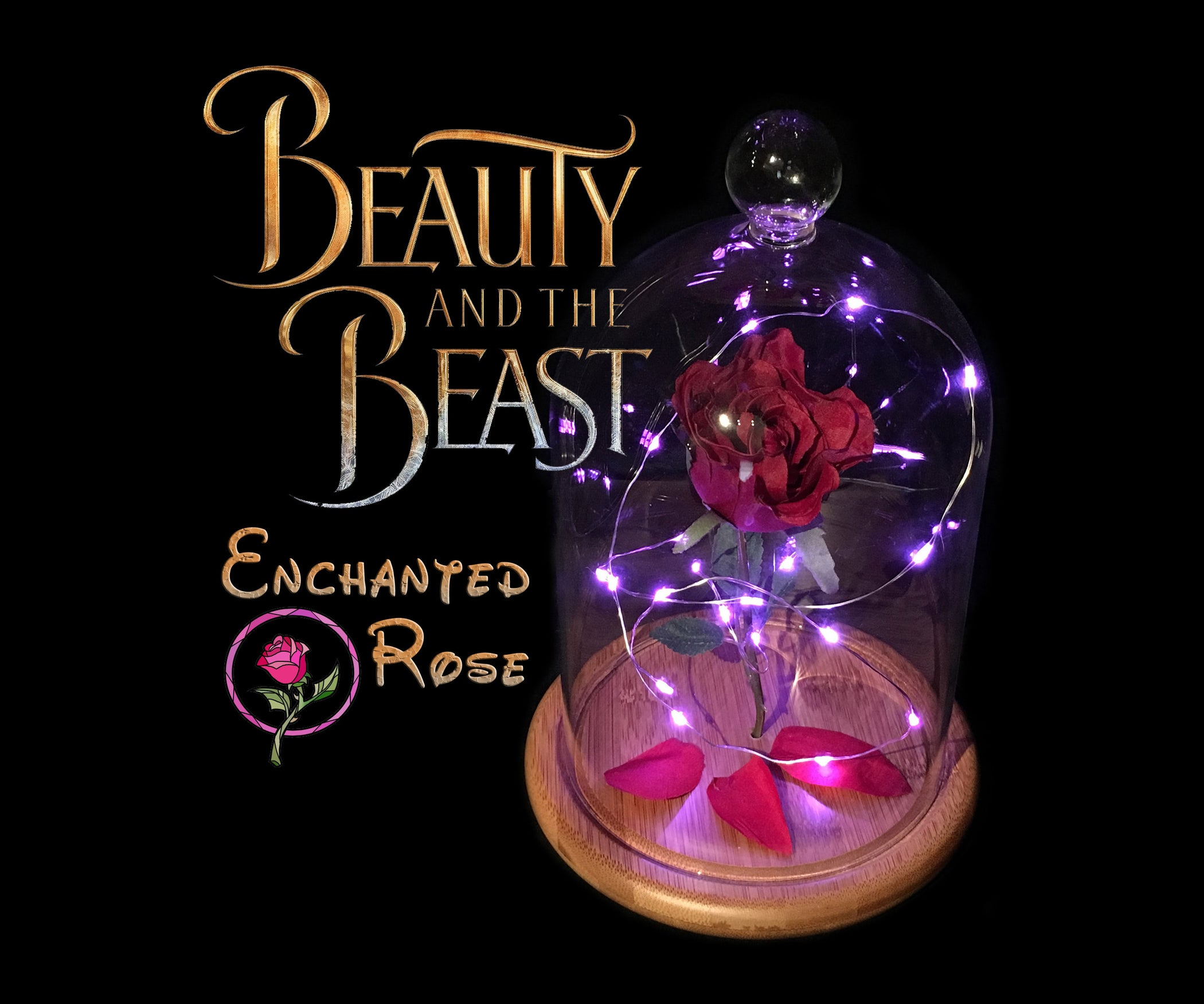 Enchanted Rose Beauty And The Beast 6 Steps With Pictures
