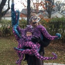 Baby Octopus Costume - Moving Tentacles