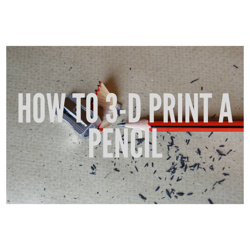 Picture of How to 3-D Print a Pencil