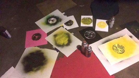 Spray Paint Exploration