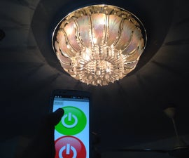 WiFi Controlled Smart Chandelier with LinkitONE