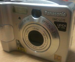 Reutilizar vieja cámara digital