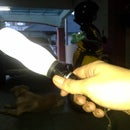 Light Torch Diffuser From Plastic Bottle