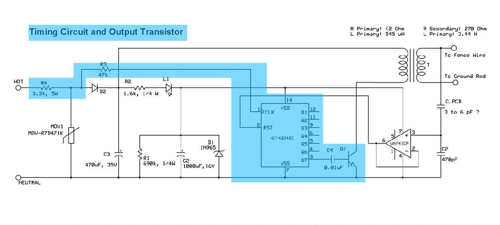 Fence Charger Schematic Diagram. . Wiring Diagram on