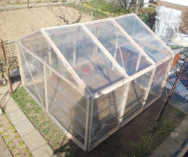 Stretch Film Greenhouse (Or Any Other House)
