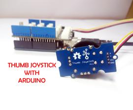 Interfacing Thumb Joystick to Arduino