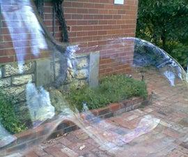 GIANT bubble blower