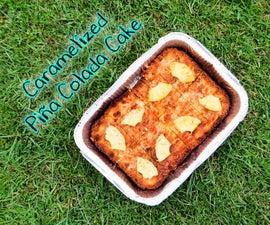 Caramelized Piña Colada Cake