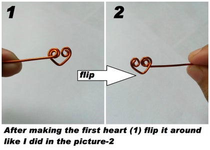 Making a Chain of Hearts