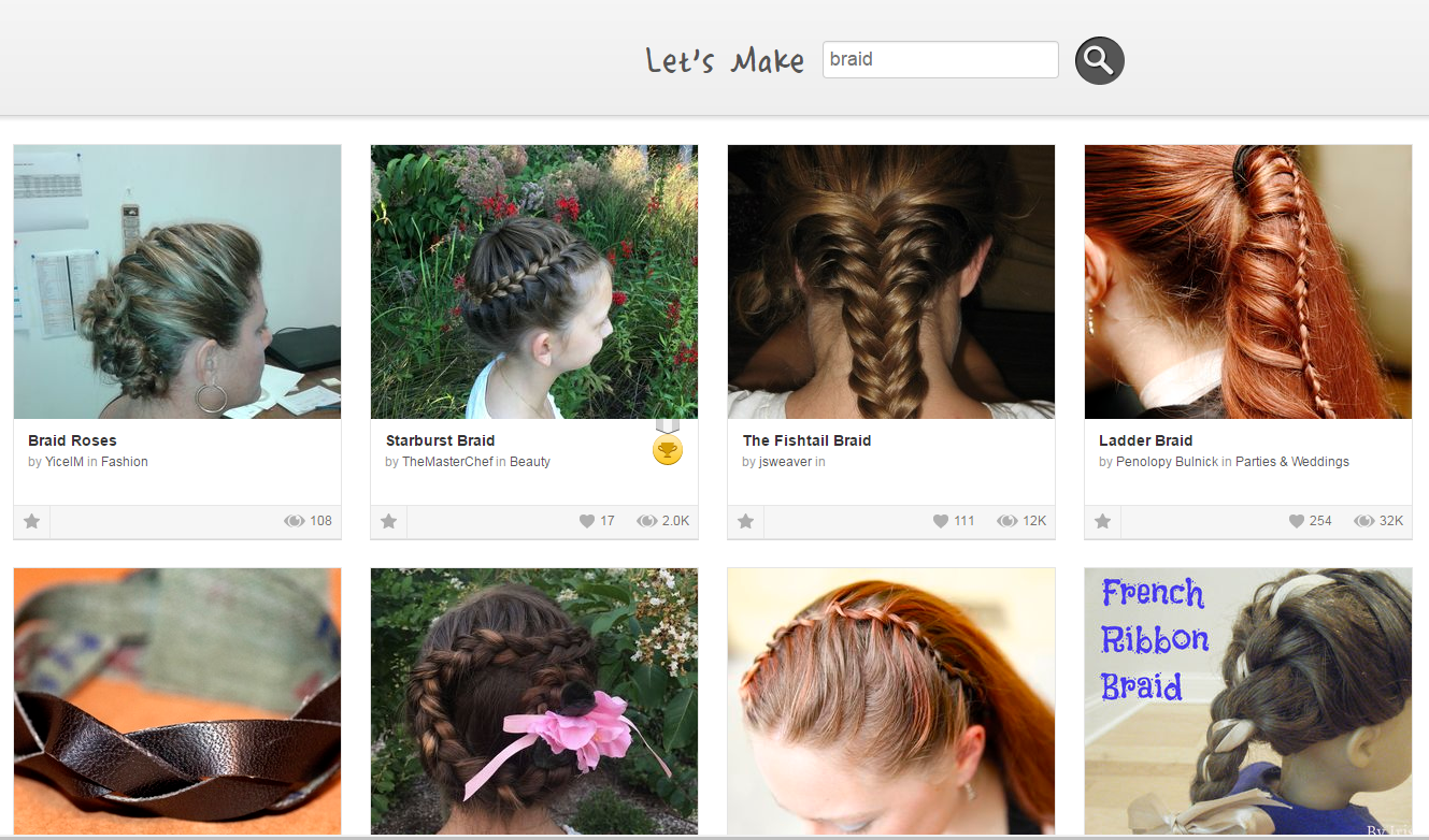 Picture of Braiding Skills