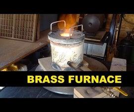 Making a Brass Melting Furnace