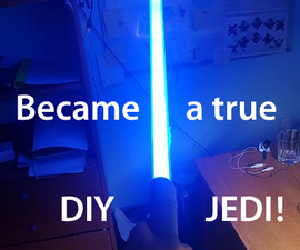 Become a JEDI, Buid Your Lightsaber!