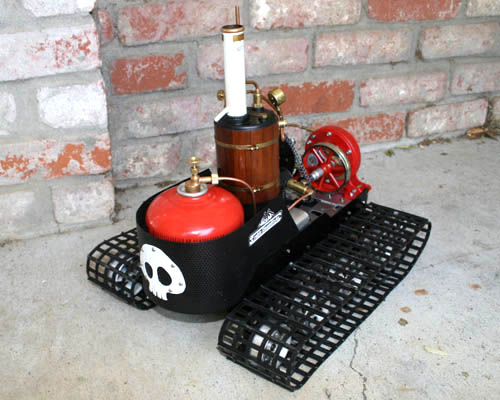 Picture of The Finished R/C Steam Turbine Tank!