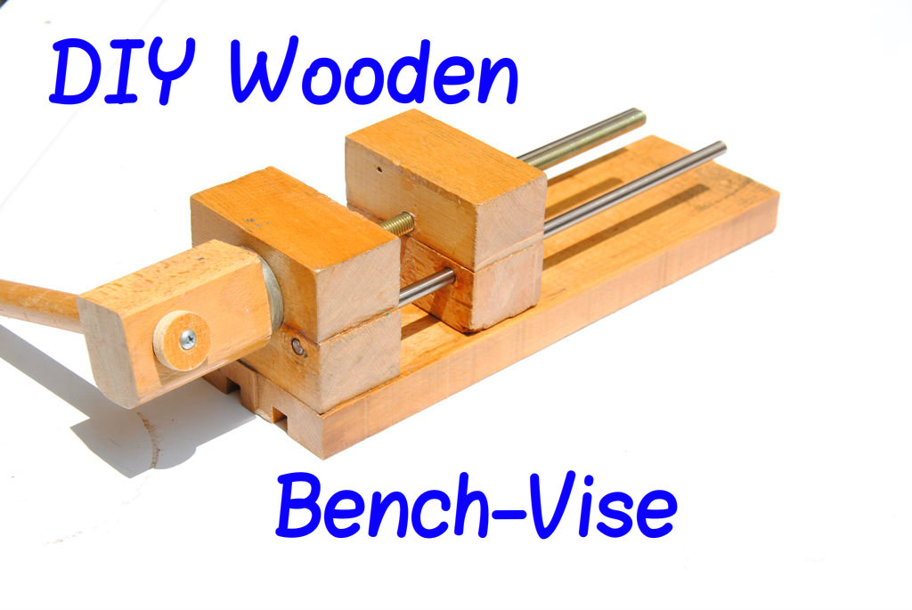 "Picture of How to Make a Wooden 6"" Bench-Vise"