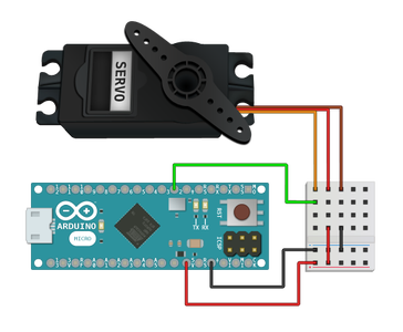 Wiring Up Your Servo and Programming