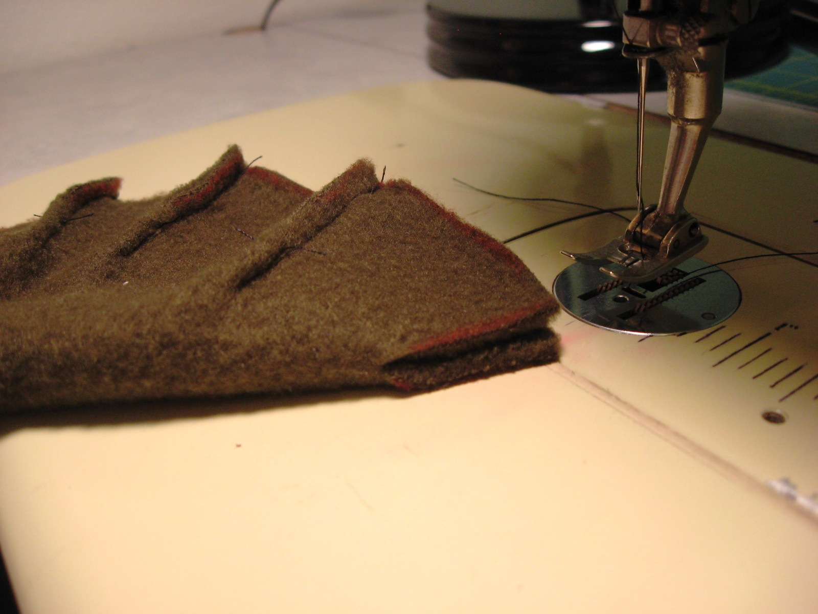 Picture of Turtle Shell Construction, Part 1