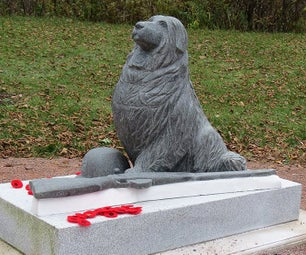 """Stone Carving: """"Forgotten Heroes"""", Repair for Remembrance Day"""