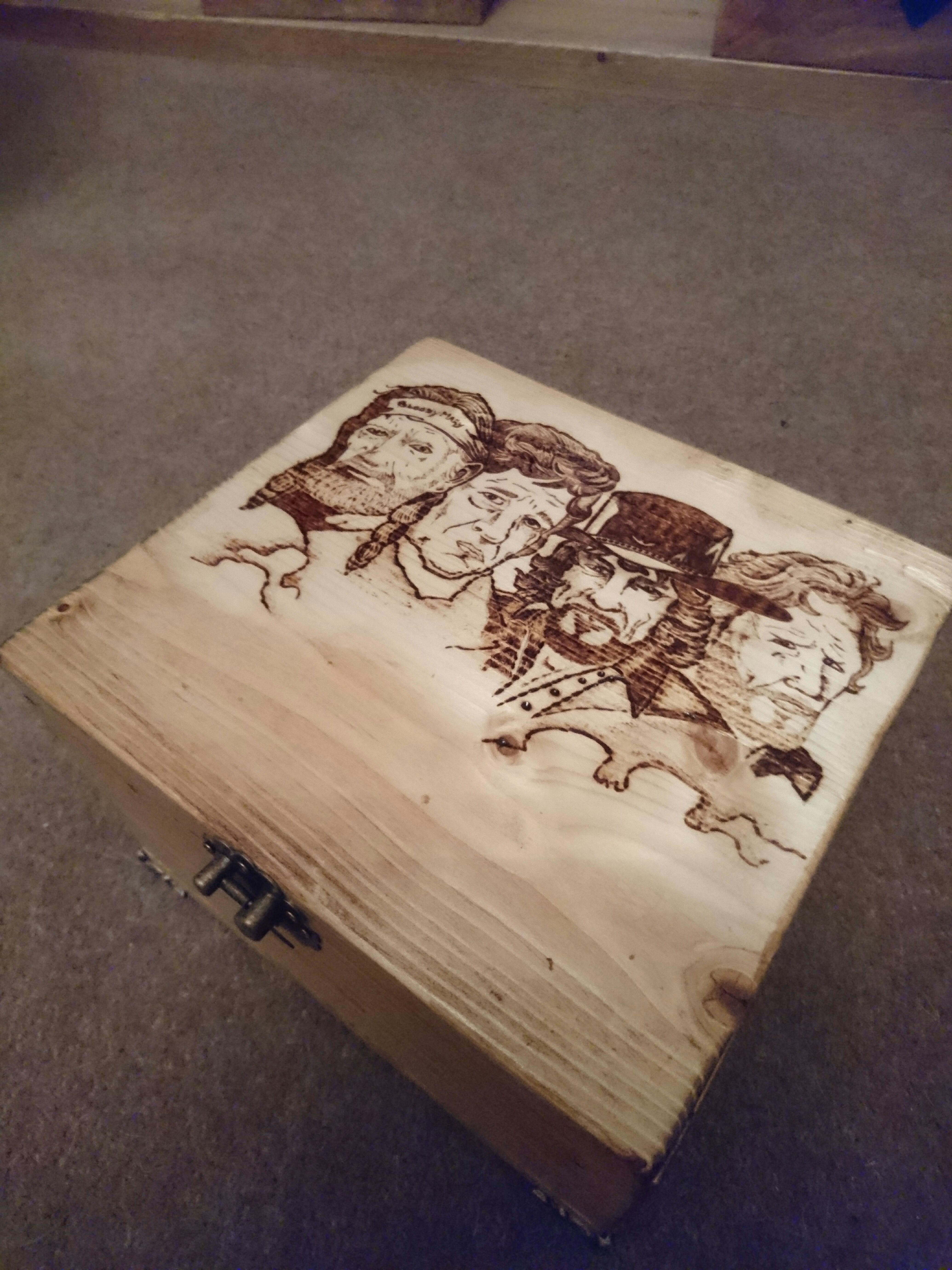 Picture of Easy Build Pipe Box WITH MUSIC + PYROGRAPHY