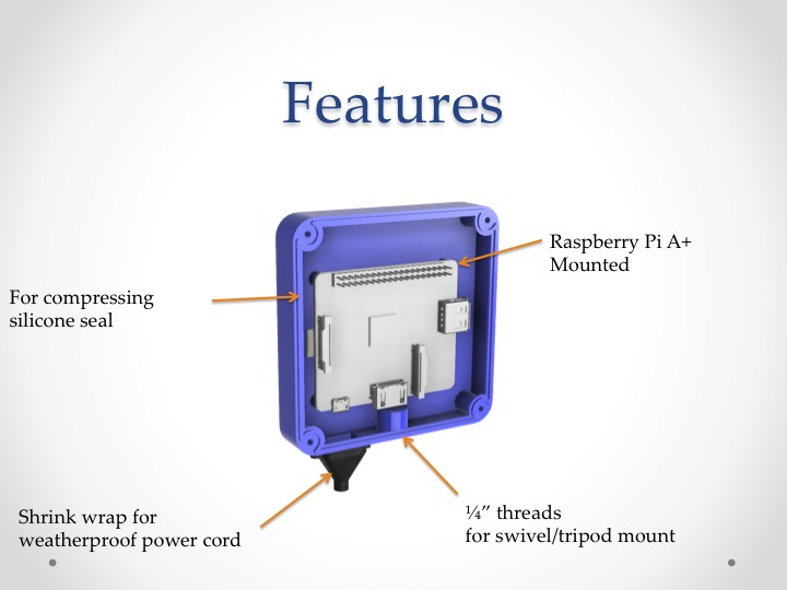 Picture of Features of RainBerry Case
