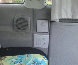 "Adding ""Shore Power"" to a VW Camper Van"