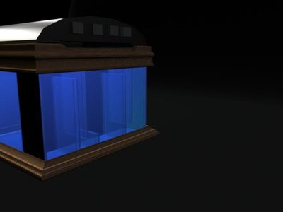 My Nano Reef Aquarium  From Idea to 3d to Real!