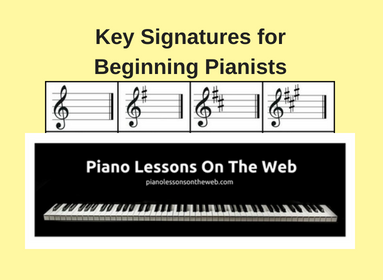 Picture of How to Understand Key Signatures for Beginning Pianists