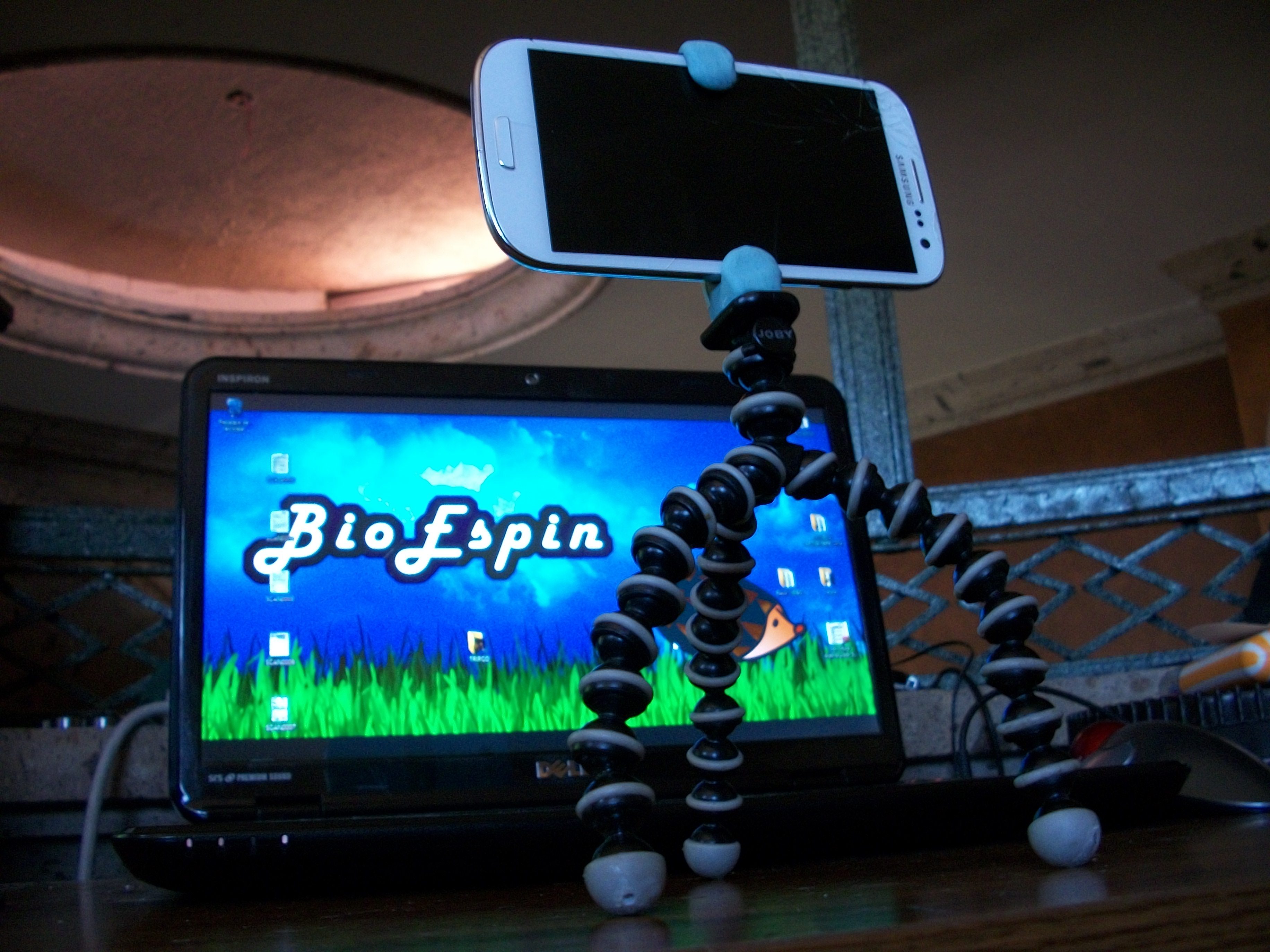 Picture of Cheap Cell Phone Flexible Tripod!