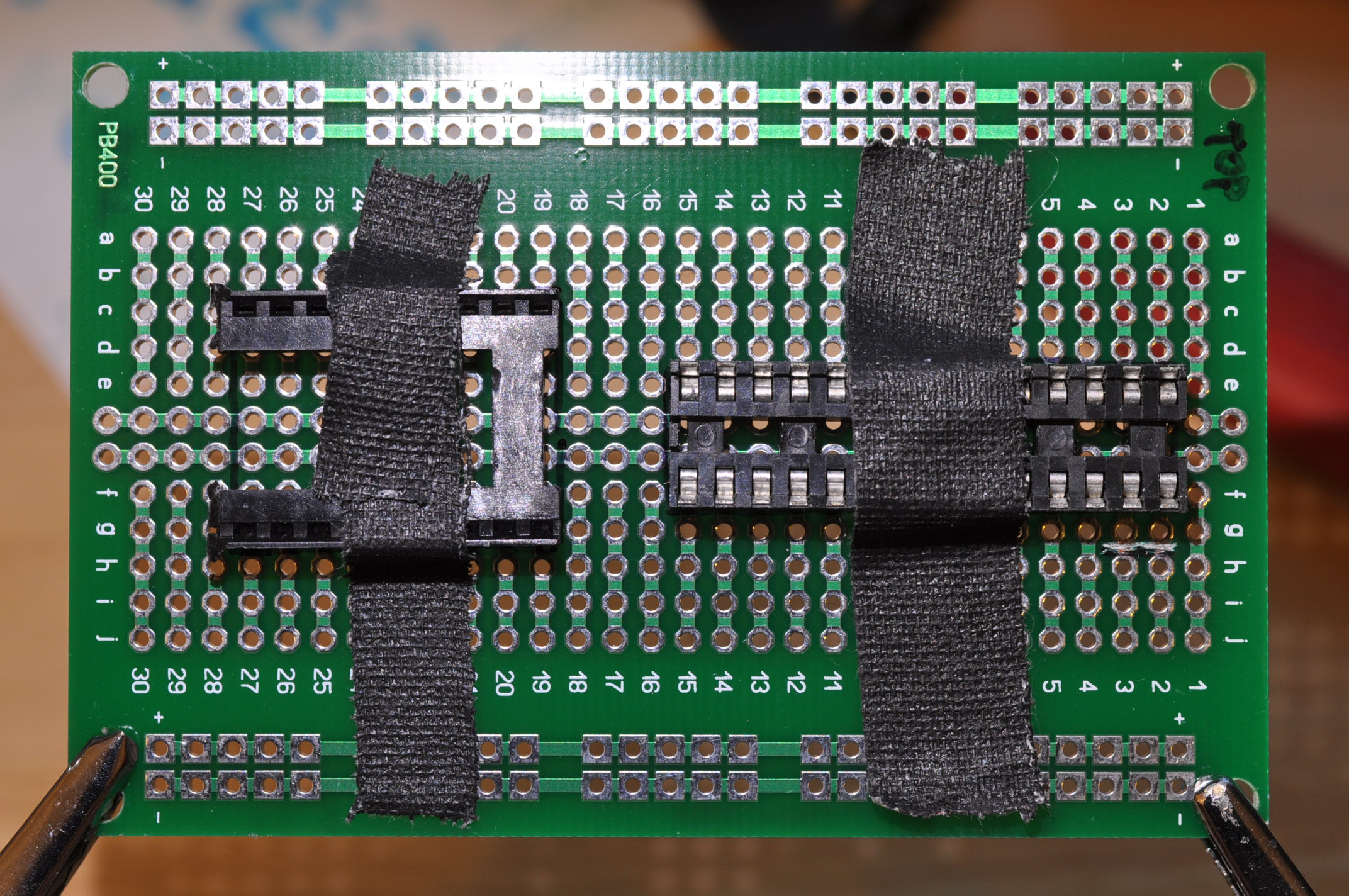 Picture of Solder the Sockets