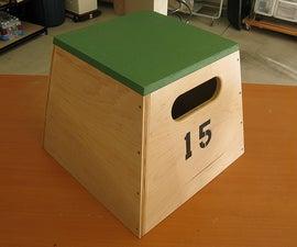 Building Plyometric Boxes (Plyo Boxes)
