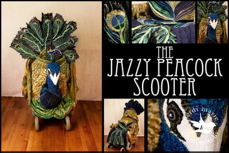 Jazzy Peacock Assembly