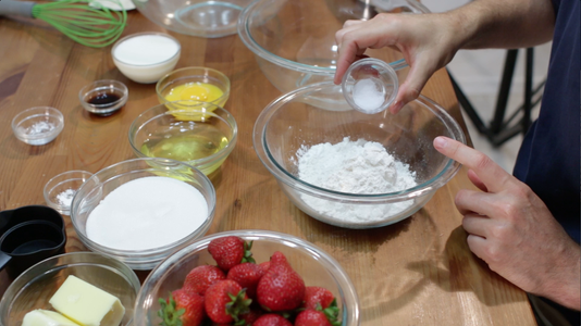 Whisk the Dry Ingredients