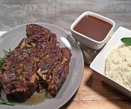 Fat Tire Herb Pot Roast With Brew Haha Beef Gravy