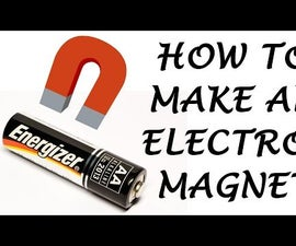 How to Make a Simple Electromagnet